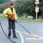 How Are Road Markings Removed?