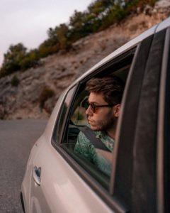 Passenger wearing seatbelt - Pexels