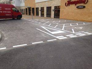 disabled parking bay