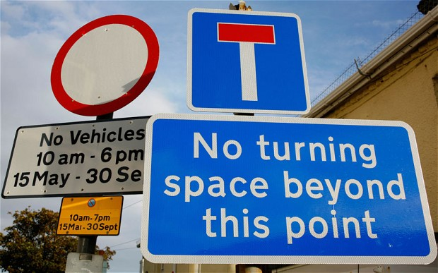 Local councils could reduce number of road signs